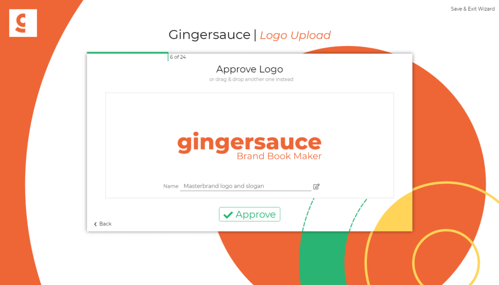 gingersauce brand book