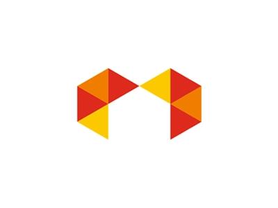 m negative logo