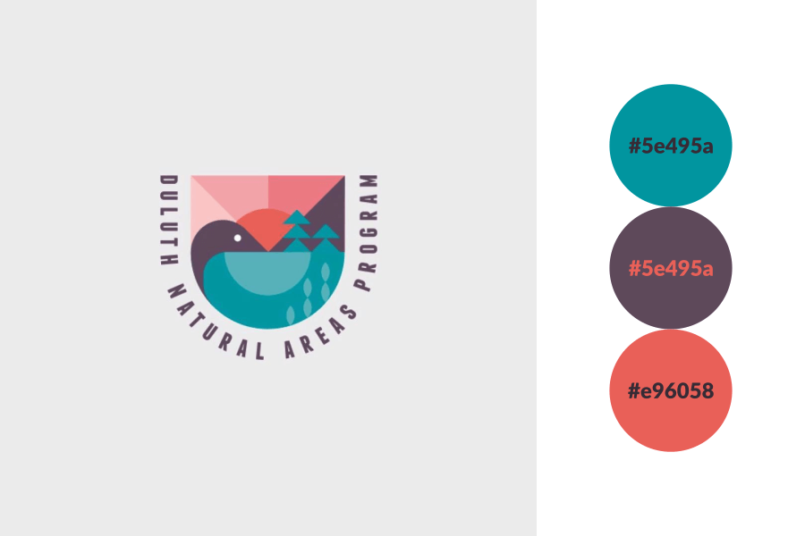 3 colors color palette