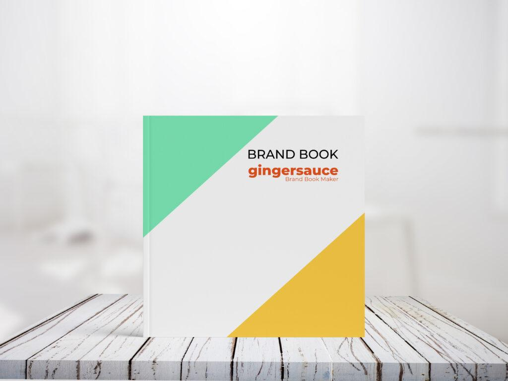 cheerful brand book cover