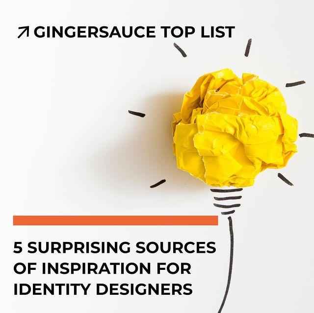 5 Surprising Sources Of Identity Design Inspiration