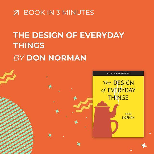 Don Norman, The Design of Everyday Things