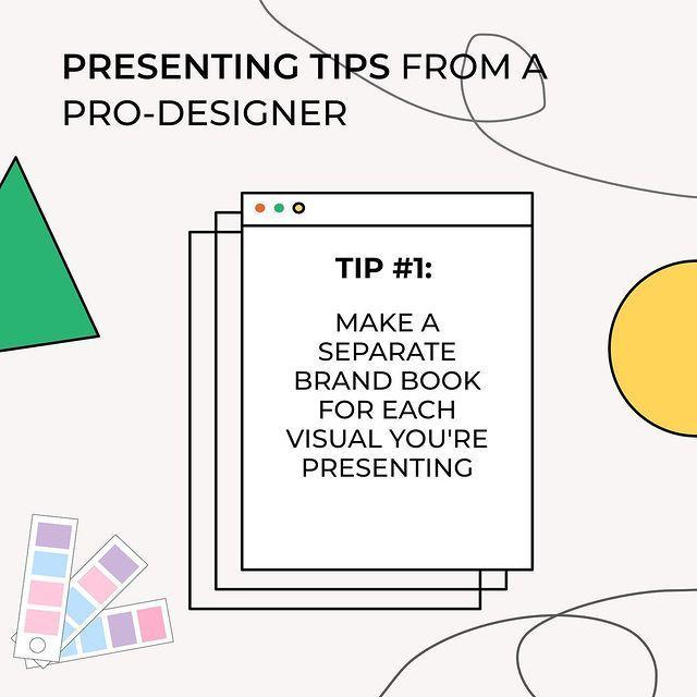Make A Separate Brand Book For Each Visual You're Presenting