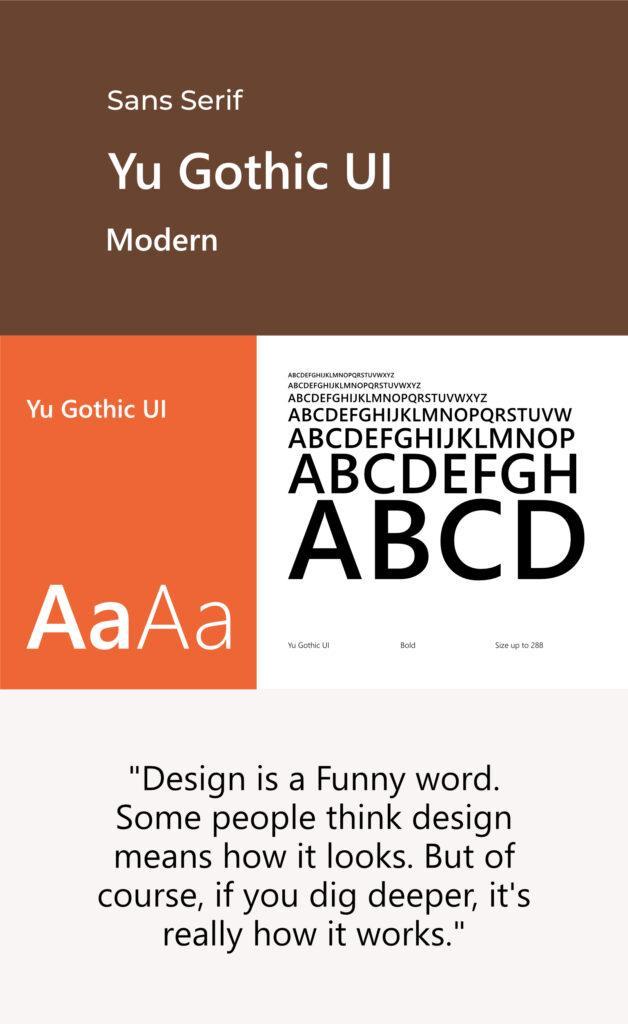 sans serif branding fonts