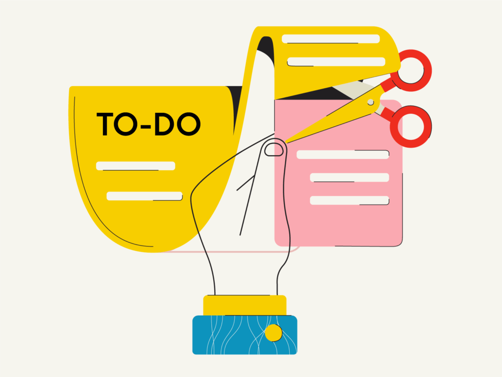 to do list illustration