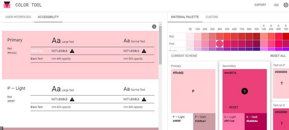 web color palette generator