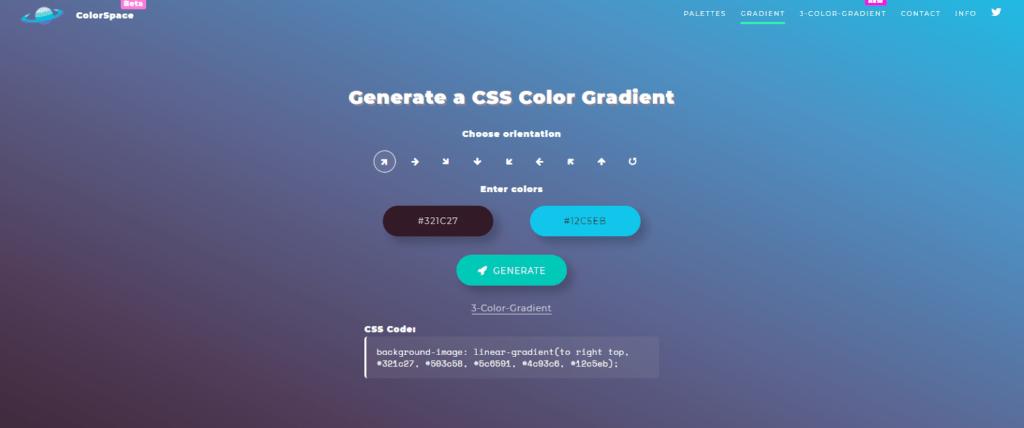 css color gradient