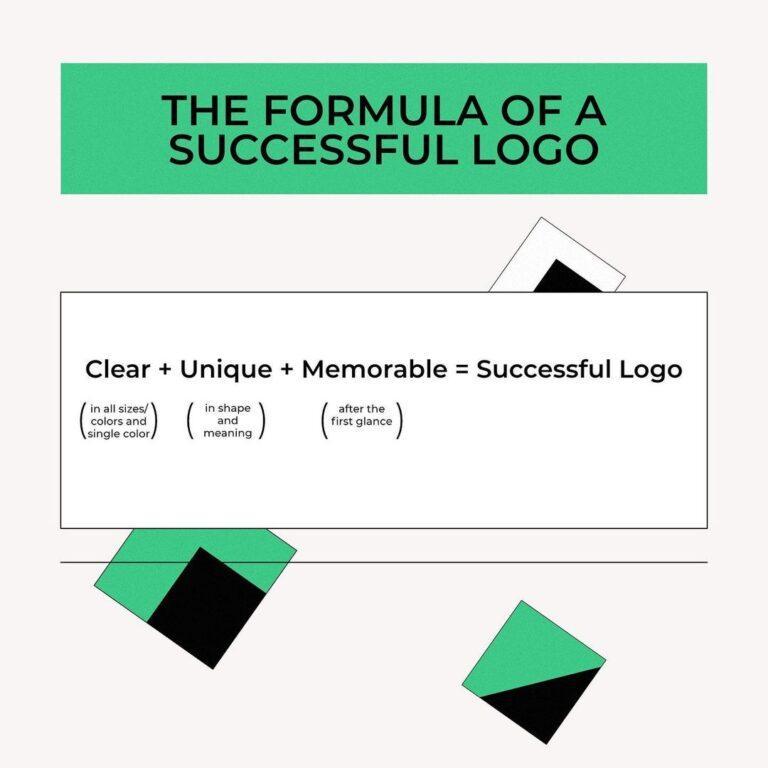 The Formula Of A Successful Logo